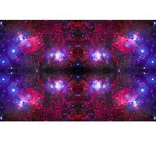 Universe background. Space simmetric ornament. Photographic Print