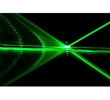 Laser reflection Photographic Print