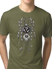 45 RPM SPIDER Tri-blend T-Shirt