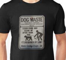 dog waste Unisex T-Shirt