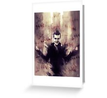 Jerome Valeska Greeting Card
