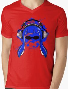 Inkling girl (Blue) Mens V-Neck T-Shirt
