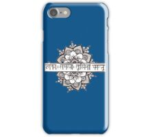 Lokah Mantra Flower iPhone Case/Skin