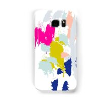 Acrylic paint brush strokes. Samsung Galaxy Case/Skin