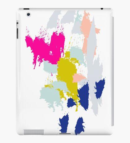 Acrylic paint brush strokes. iPad Case/Skin