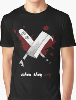 When They Cry Graphic T-Shirt