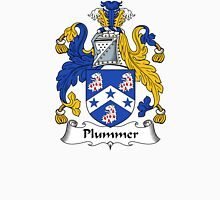 Plummer Coat of Arms / Plummer Family Crest Unisex T-Shirt