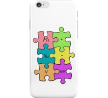We Fit Together iPhone Case/Skin