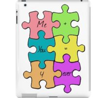 We Fit Together iPad Case/Skin
