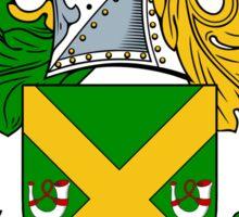 Pollock Coat of Arms / Pollock Family Crest Sticker
