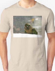 Is It Snowing? - Maroon-Bellied Conure NZ Unisex T-Shirt