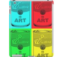 Pro Wrestling is (pop) Art iPad Case/Skin