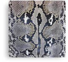 Python snake skin texture design Canvas Print