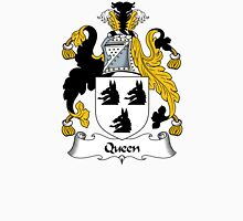 Queen Coat of Arms / Queen Family Crest Unisex T-Shirt