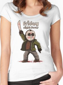 Friday night fever Women's Fitted Scoop T-Shirt