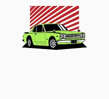 Nissan Skyline 2000 GT-R Coupe (green) Unisex T-Shirt