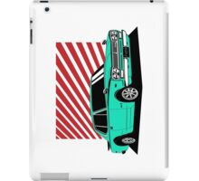 Nissan Skyline 2000 GT-R Coupe (blue) iPad Case/Skin