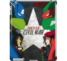 Turtles Civil War iPad Case/Skin