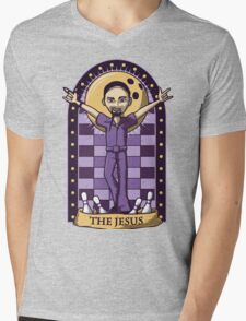 The Jesus Mens V-Neck T-Shirt