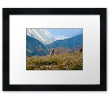 ~take a deep breath~ Framed Print