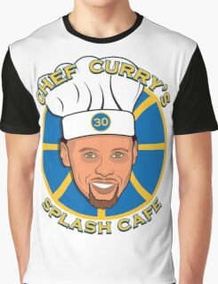 Chef Curry's Splash Cafe Graphic T-Shirt