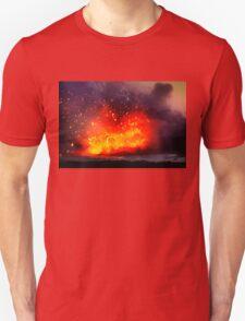 Kilauea Volcano at Kalapana 9 Unisex T-Shirt