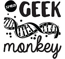 Geek Monkey Cosima  Photographic Print