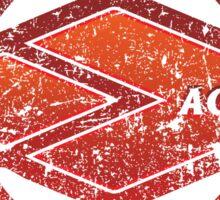 Ageo - Saitama - Prefecture of Japan - Distressed Sticker