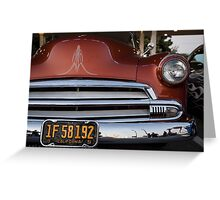 California Pinstripe Greeting Card