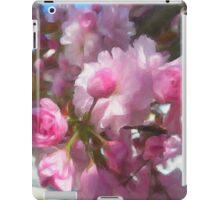 Bright Pink Springtime Blossoms iPad Case/Skin
