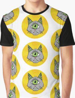 Illuminati Cyclops Money Cat, alone! Graphic T-Shirt