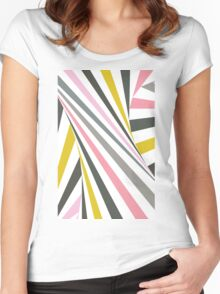 TwiangleQuatro Women's Fitted Scoop T-Shirt