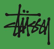 Stussy Logo Baby Tee