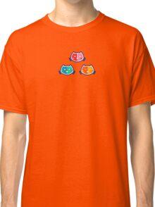 Chromatic Cats Pattern Classic T-Shirt