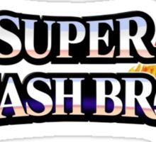 I'd Rather be Playing SUPER SMASH BROS. Right Now Sticker