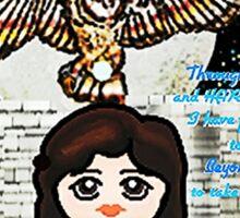 sarah and the labyrinth momiji Sticker