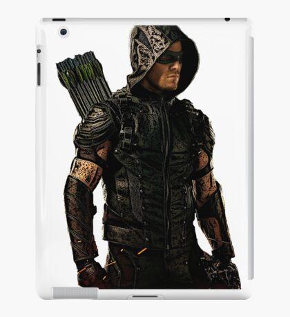 Arrow Season 4 Suit, Oliver Queen iPad Case/Skin