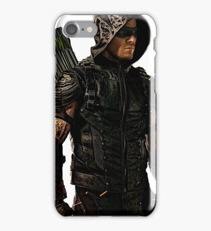 Arrow Season 4 Suit, Oliver Queen iPhone Case/Skin