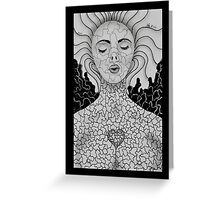 Untitled Female by Leslie Berg Greeting Card