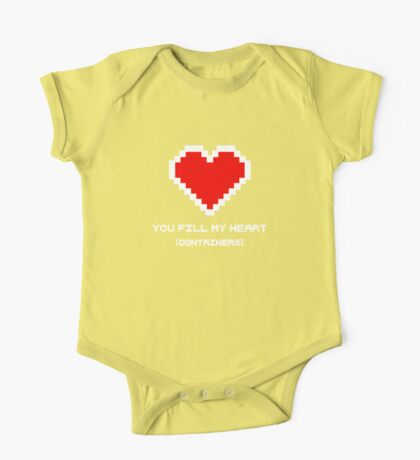 You Fill My Heart (Containers) One Piece - Short Sleeve