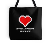 You Fill My Heart (Containers) Tote Bag