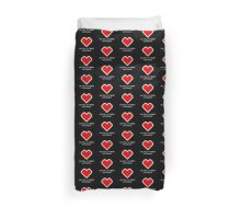 You Fill My Heart (Containers) Duvet Cover