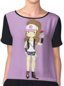 Pokemon Trainer Hilda Chiffon Top