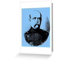 Otto von Bismarck Greeting Card
