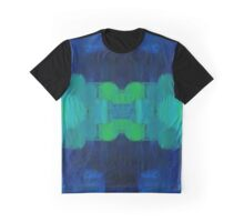 The blue shore abstract Graphic T-Shirt