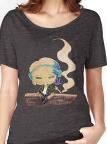 riley blue on a wall Women's Relaxed Fit T-Shirt