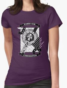 Forever Liberated Womens Fitted T-Shirt