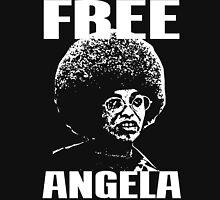 FREE ANGELA DAVIS Men's Baseball ¾ T-Shirt