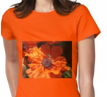 A Bee And A Poppy   Womens Fitted T-Shirt