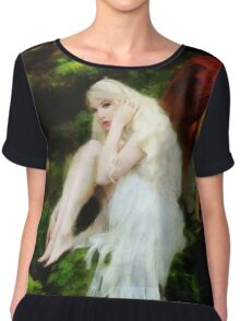 By the brook. Chiffon Top